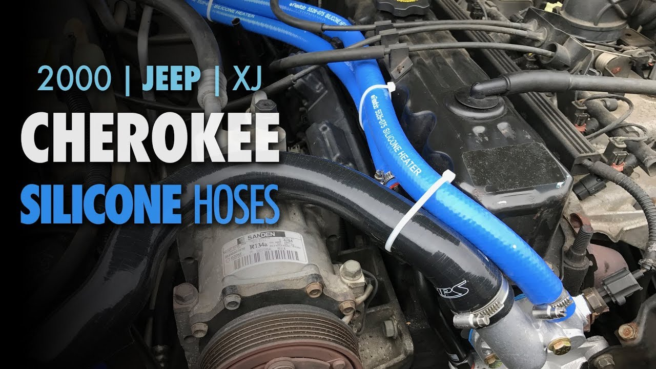 2000 jeep cherokee xj silicone hoses cooling system upgrade [ 1280 x 720 Pixel ]
