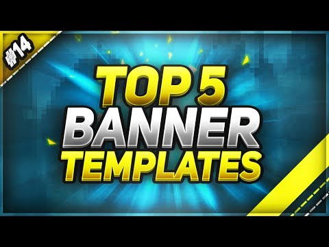 📸 TOP 5 FREE YouTube Banner Templates #14 | FREE DOWNLOAD!