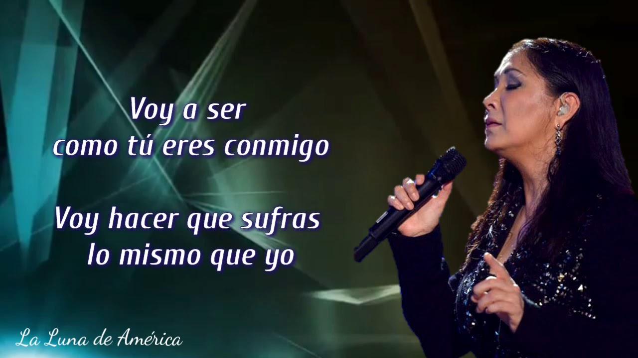 Ana Gabriel - Voy A Ser (Letra)