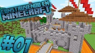 Como hacer un castillo en minecraft para survival OmarZcraft