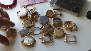позолоченные часы золота нет помытые корпуса осторожно мошенники