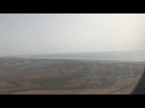 Takeoff from Tangier Airport (TNG) 3/8/17
