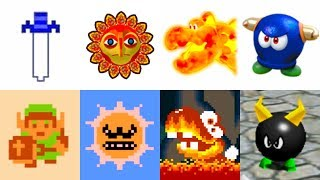 Super Mario Maker 2 - Origin of All Enemies & Power-Ups