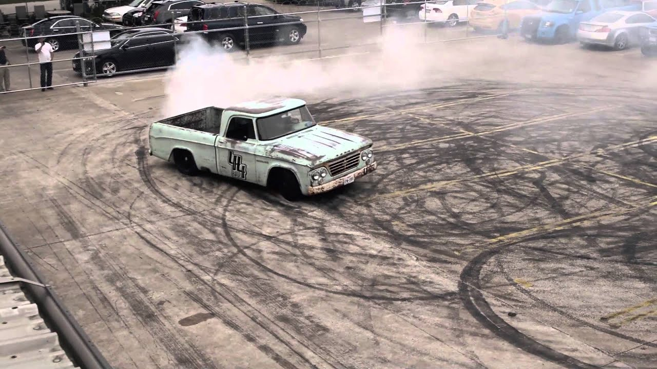44 Build Dodge donuts by Gas Monkey Garage - YouTube