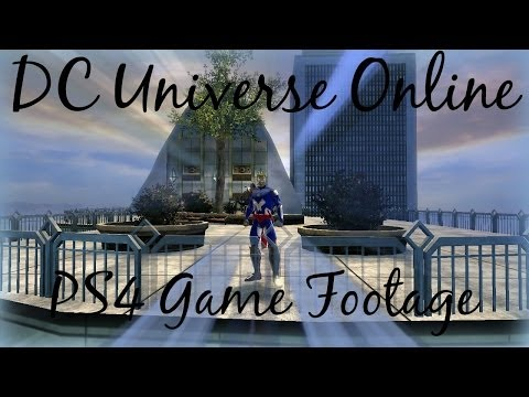 DC Universe Online-DCUO on PS4