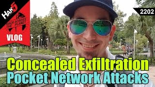 Concealed Exfiltration - Pocket Network Attacks with the Bash Bunny - Hak5 2202