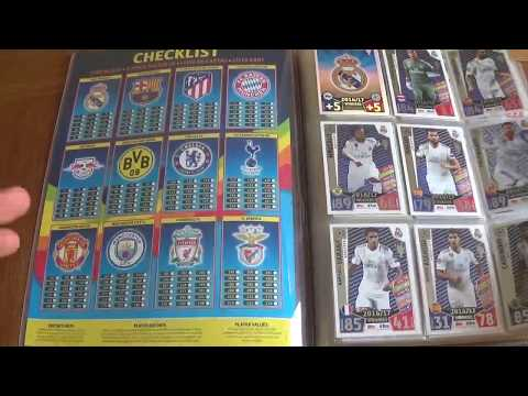 MATCH ATTAX 2017/18 UEFA CHAMPIONS LEAGUE BINDER UPDATE