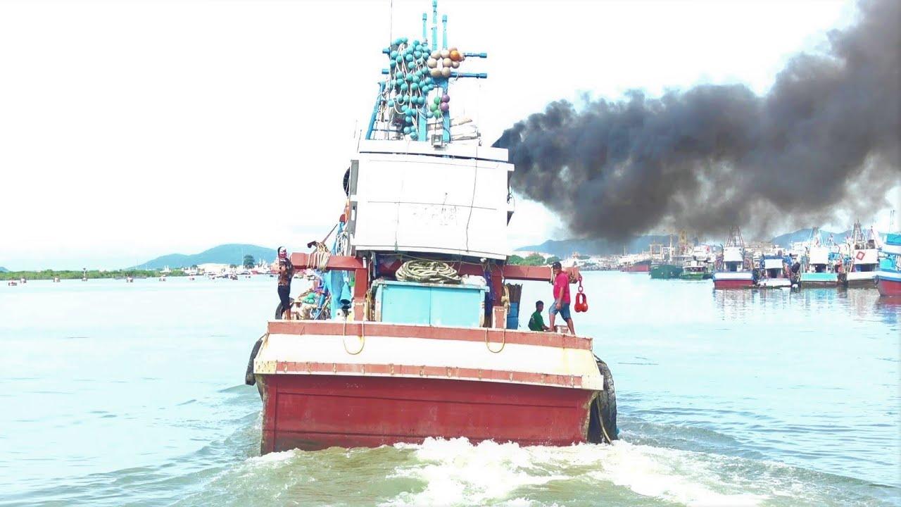 # 28 Vũng Tàu | Uy Lực Và Sức Mạnh Thật Sự Của Tàu Cá Là Đây | Tê Tái Con Tim