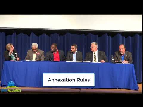 Annexation, Deannexation & Incorporation Part 1 (Annexation Rules)