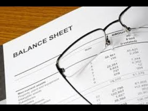 Restating Your Firm's Balance Sheet