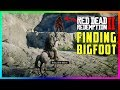 What Happens If You Get Up To Bigfoot's Hiding Spot At His Mountain In Red Dead Redemption 2? (RDR2)