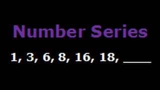 Number series and patterns - 1, 3, 6, 8, 16, 18, ___, ___, 76, 78, ...
