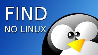 Encontrar arquivos no Linux com find
