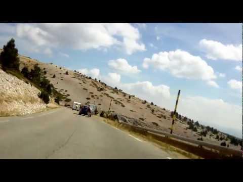 Trek Travel Provence - Mont Ventoux Descent