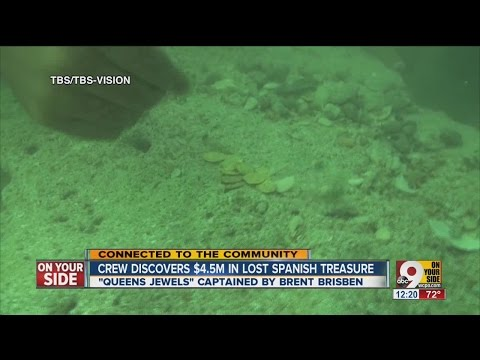 Local man helps discover $4.5M in lost Spanish treasure