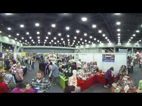 Greater Cincinnati Holiday Market 360 Degree Interactive Video