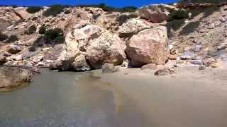 секретная бухточка на острове Наксос, Греция. июнь 2014(Буквально волшебная бухточка: золотой мягкий песок, пологое чистое дно, морская вода - как жидкий топаз..., 2014-06-26T14:48:38.000Z)