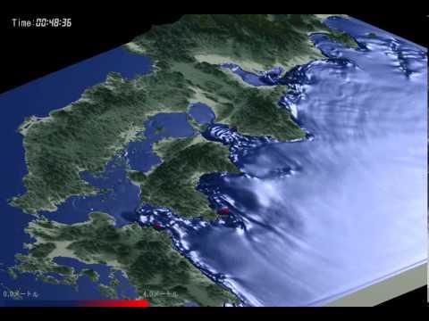 南海トラフ(4連動ケース)