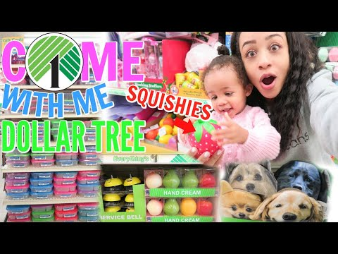 COME WITH ME TO DOLLAR TREE! BIG SQUISHIES, BRAND NAME TOYS AND MORE!