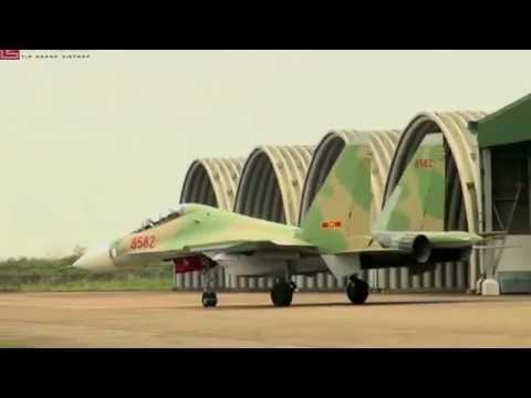 Máy bay chiến đấu của Việt Nam đây SU 30MK2