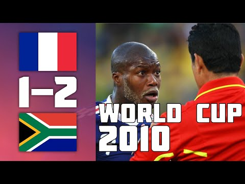 France 1 - 2 South Africa | World Cup 2010