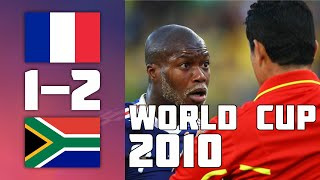 France VS South Africa 1 2 Goals Highlights World Cup 2010