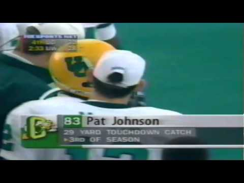 Oregon WR Patrick Johnson 29 yard touchdown catch vs. UW 11-08-1997