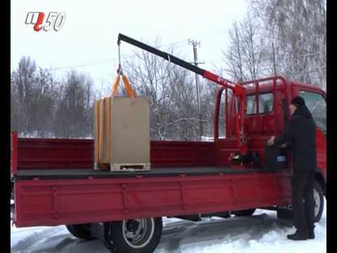 Продажа крана-манипулятора в киеве и украине. Переоборудование автомобиля в украине и установка кран манипулятор от компании polycar.