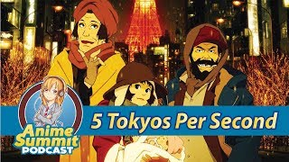 5 Cm Per Second & Tokyo Godfathers Review - Anime Podcast