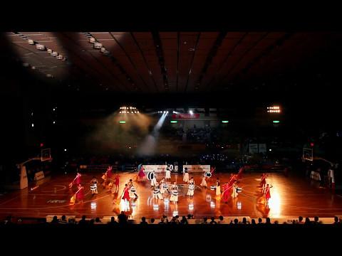 Drum Performance Group「鼓和-core-」×「Yokohama Aires」 横浜B-CORSAIRS 2017/5/3 ホーム最終ゲーム オープニングアクト