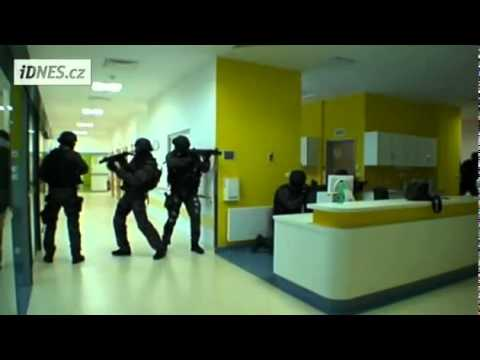 Czech Police SWAT Training - Rescue Of Hostages Held In A Hospital