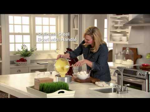 KitchenAid 4.5qt. 300W Tilt Head Stand Mixer With Flex Edge With Stacey Stauffer