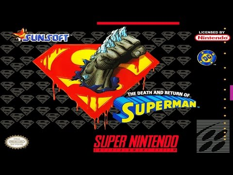 The Death and Return of Superman (SNES)