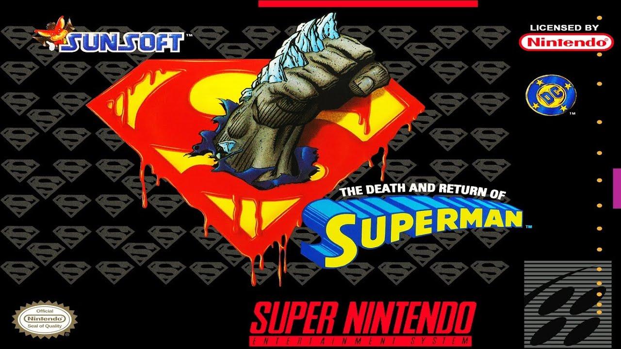 Resultado de imagem para Death and Return of Superman, The snes