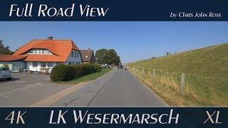 Landkreis wesermarsch, germany: butjadingen - nordenham 4k (2160p/60p) ultra hd xl-video
