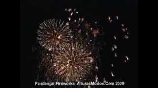 Alturas Fandango Days Fireworks Modoc County California