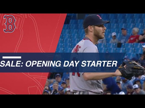 Sale ready to start Opening Day for the Red Sox