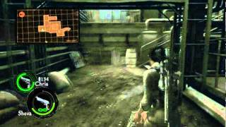 Resident Evil 5 gameplay PC PL cz. 2