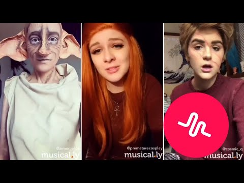 Harry Potter Cosplay Musical.ly Compilation