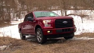 2015 Ford F-150 FX4 - TestDriveNow.com Review by Auto Critic Steve Hammes(TestDriveNow.com review of the all-new 2015 Ford F-150 XLT SuperCrew, 5-1/2' Box, 3.5L V6 EcoBoost, 4X4 with FX4 Off-Road Package. MSRP as tested: ..., 2015-03-25T20:12:18.000Z)