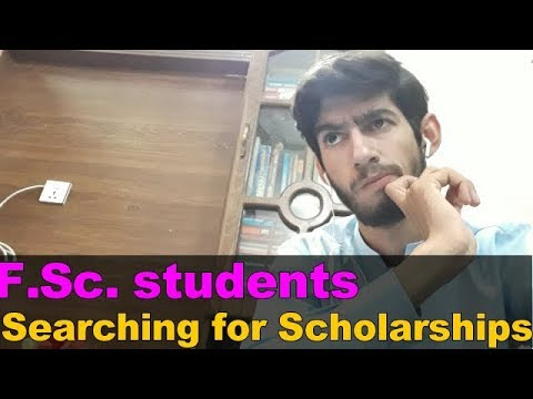 How can FSc students search for scholarships