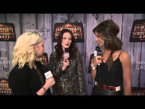 Katie Armiger Red Carpet Interview 02 - ACCAs 2014