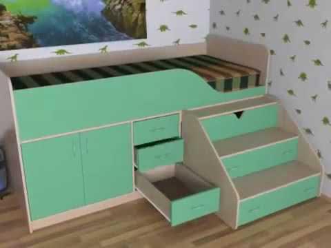 Кровать чердак  Производство корпусной мебели в нижнем тагиле  Детские кровати