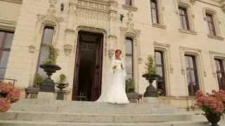 Сказочная свадьба в замке