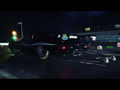 Street Outlaws Big Chief doing a Test Hit for Season 11