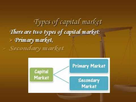 importance of secondary market