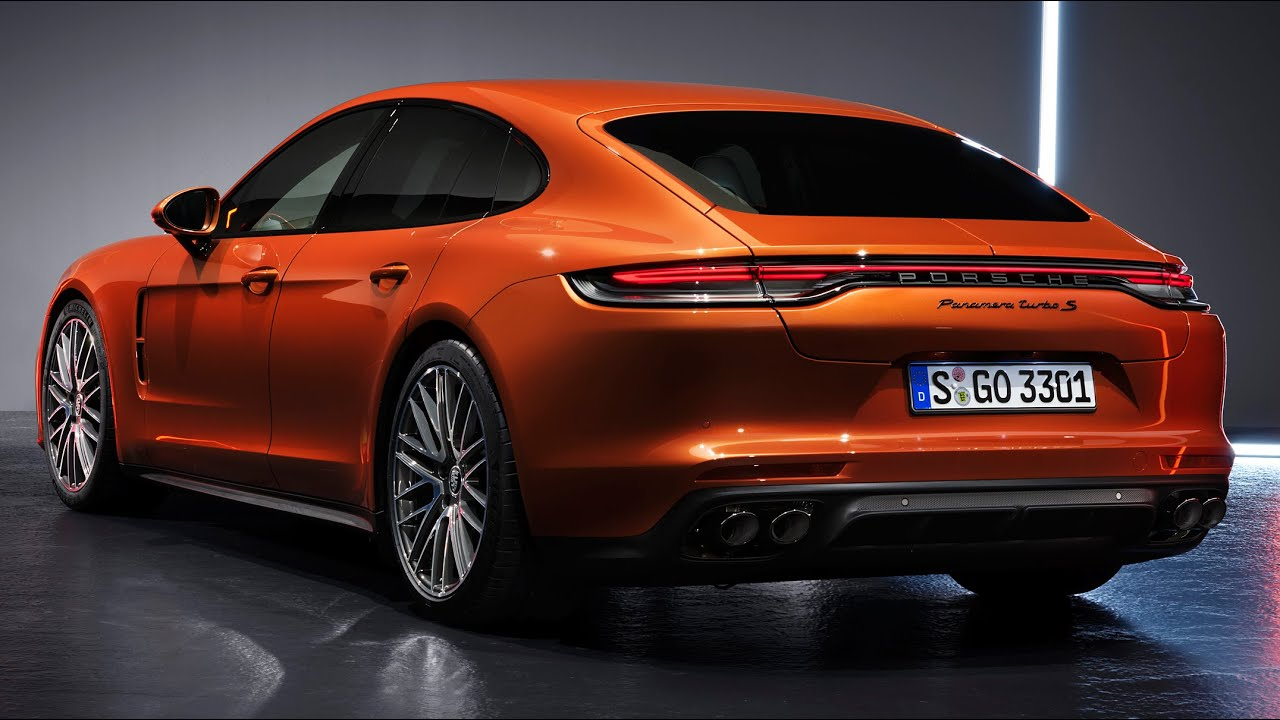 5 Porsche Panamera Turbo S — Exterior and Interior / Beautiful in Details