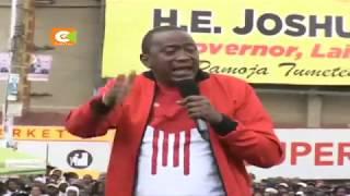 Rais na naibu wake wazuru Nyandarua, Laikipia na Nakuru