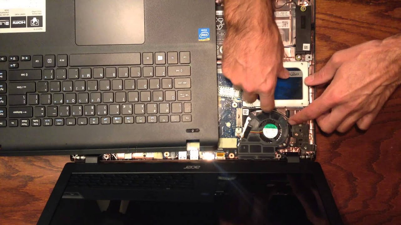 How To Install A SSD In An Acer ES1 511 C59V Laptop