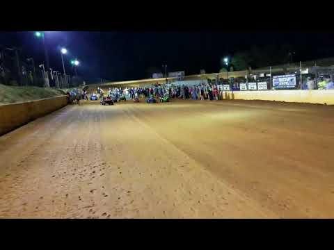 Power-Wheel and foot races Laurens Speedway